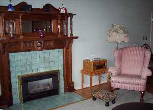 bayview suite fireplace